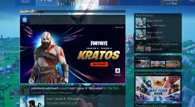 Imagen de Fortnite anuncia una nueva skin de Kratos de God of War para la Temporada 5