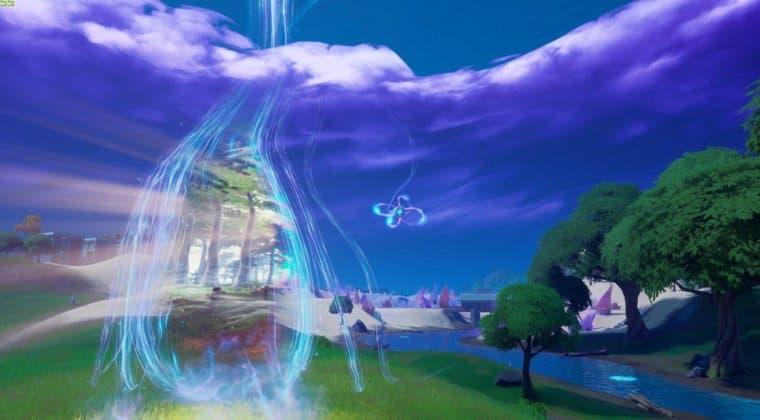 Imagen de Aparece en Fortnite un portal a otra dimensión cerca del Punto Cero del mapa