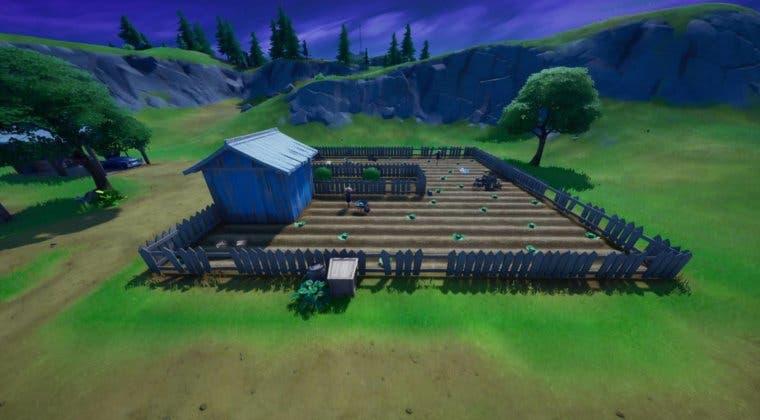 Imagen de Fortnite: Recoge una cesta de tomate de una granja cercana