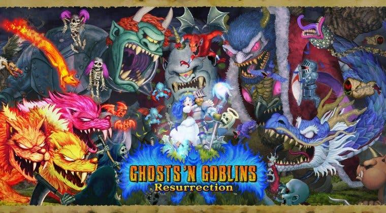 Imagen de Ghosts 'n Goblins Resurrection se deja ver en 10 minutos de gameplay