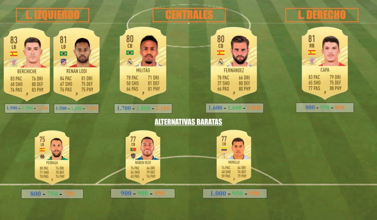 FIFA 21 Ultimate Team Icon Swaps Una Liga Liga Santander equipo tokens online defensas