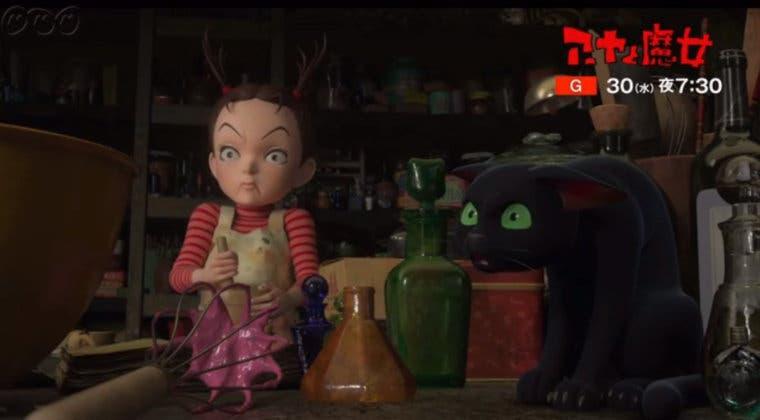 Imagen de Earwig y la Bruja (Studio Ghibli) muestra su primer tráiler oficial