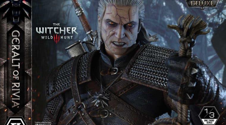 Imagen de Geralt de Rivia (The Witcher 3) puede ser tuyo en esta increíble figura de hasta 1449 dólares