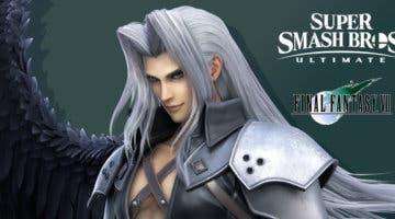 Imagen de Sephiroth llega a Super Smash Bros. Ultimate con la actualización 10.1