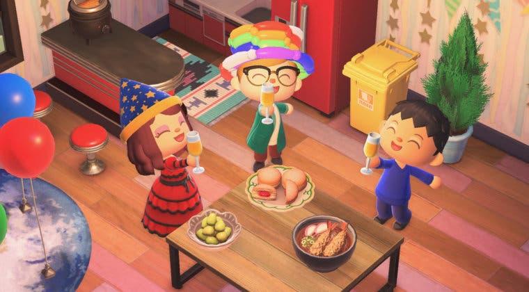 Imagen de Animal Crossing: New Horizons añade objetos para celebrar Fin de Año