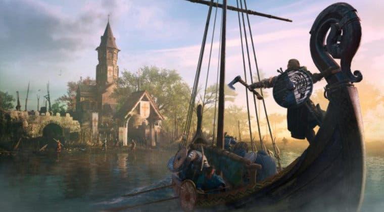 Imagen de Assassin's Creed Valhalla estuvo a punto de contar con combates navales