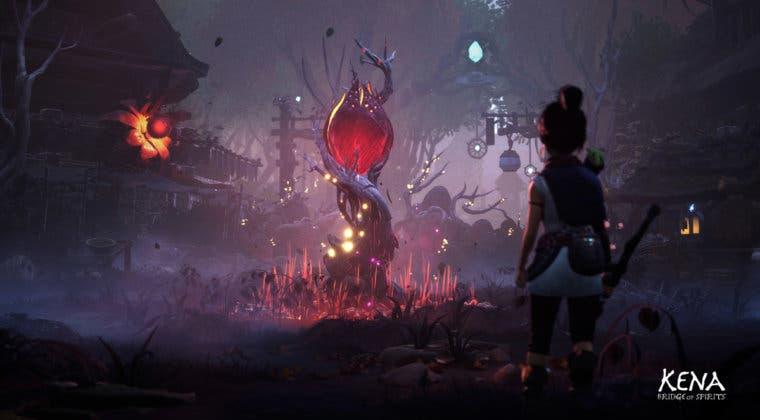 Imagen de Kena: Bridge of Spirits se muestra en nuevas imágenes de su mundo y enemigos