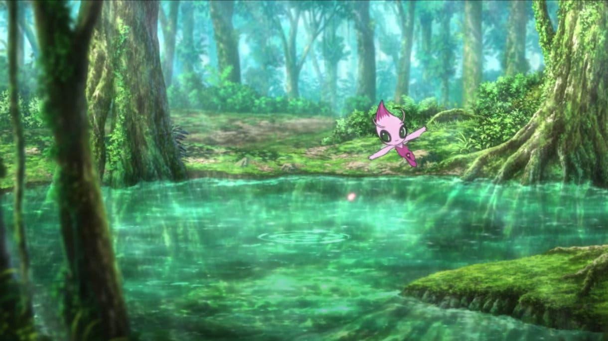 La Pelicula Pokemon Los Secretos de la Selva Celebi shiny
