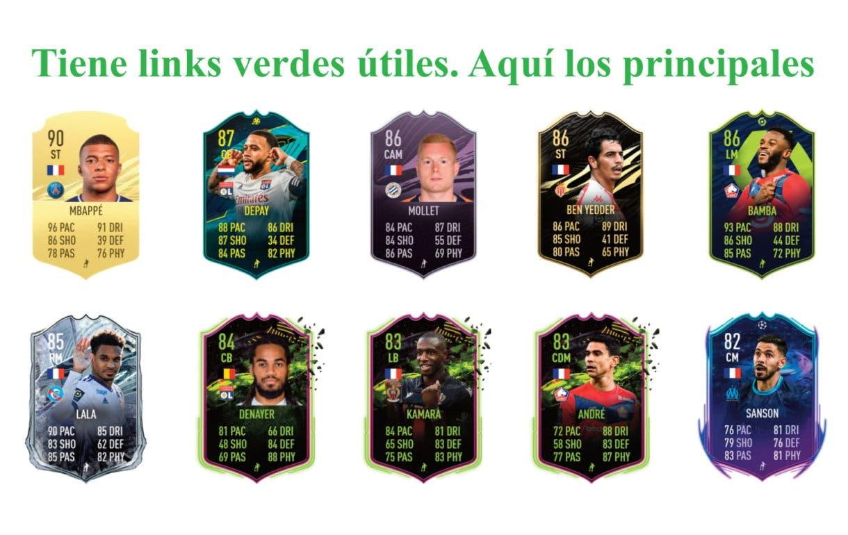 FIFA 21 Ultimate Team Aouar Freeze links verdes