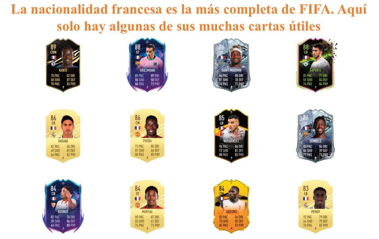 FIFA 21 Ultimate Team Aouar Freeze links naranjas
