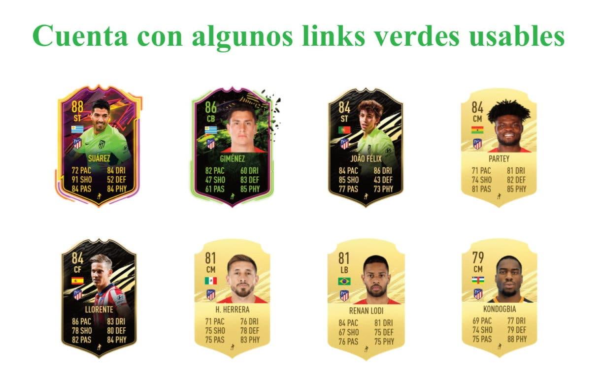 Carrasco IF links verdes útiles FIFA 21 Ultimate Team
