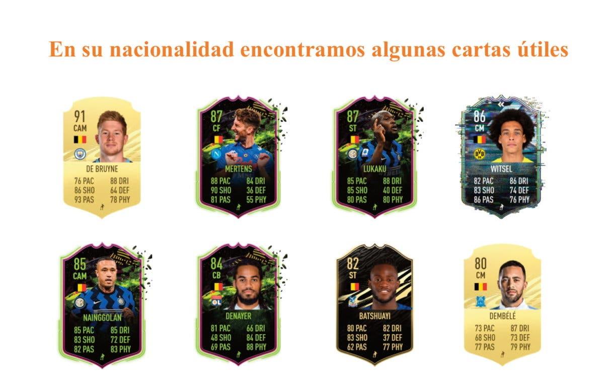 Carrasco IF links naranjas útiles FIFA 21 Ultimate Team
