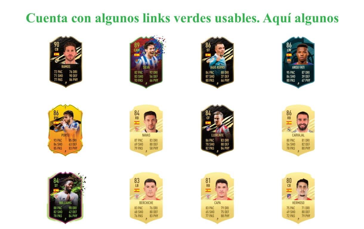 José Luis Gayá Freeze FIFA 21 Ultimate links verdes