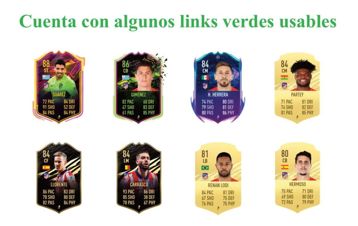 Joao Félix POTM links verdes FIFA 21 Ultimate Team
