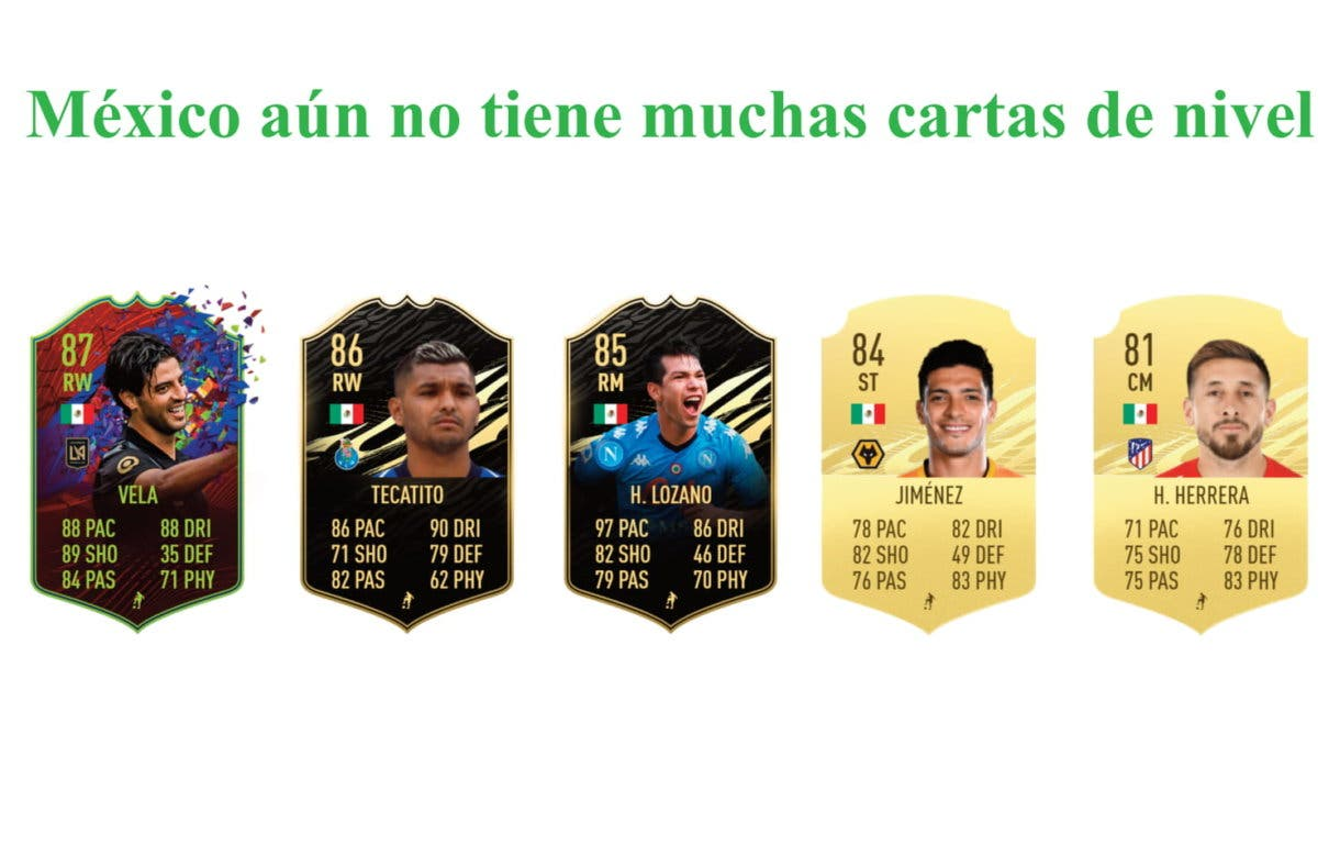 Luis Hernández links verdes por nacionalidad FIFA 21 Ultimate Team