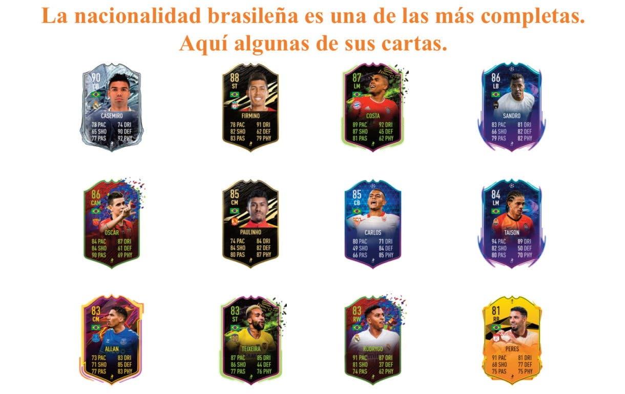 Marquinhos links naranjas FIFA 21 Ultimate Team