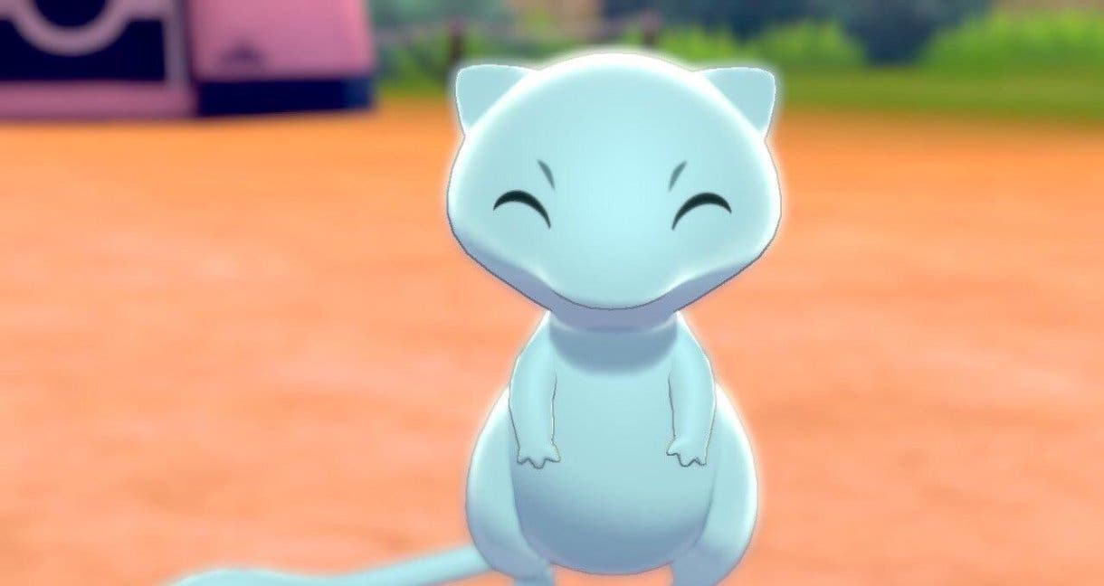 Mew shiny Pokemon