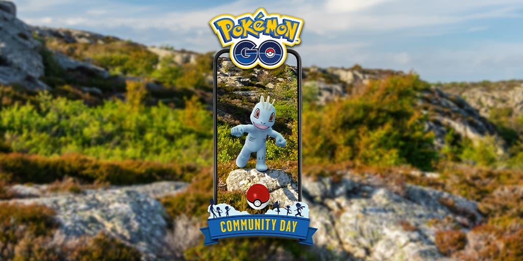 Pokemon GO Dia de la Comunidad Machop