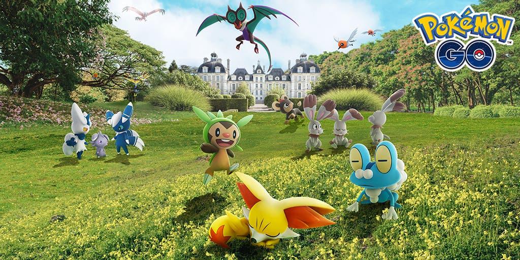 Pokemon GO Kalos sexta generacion