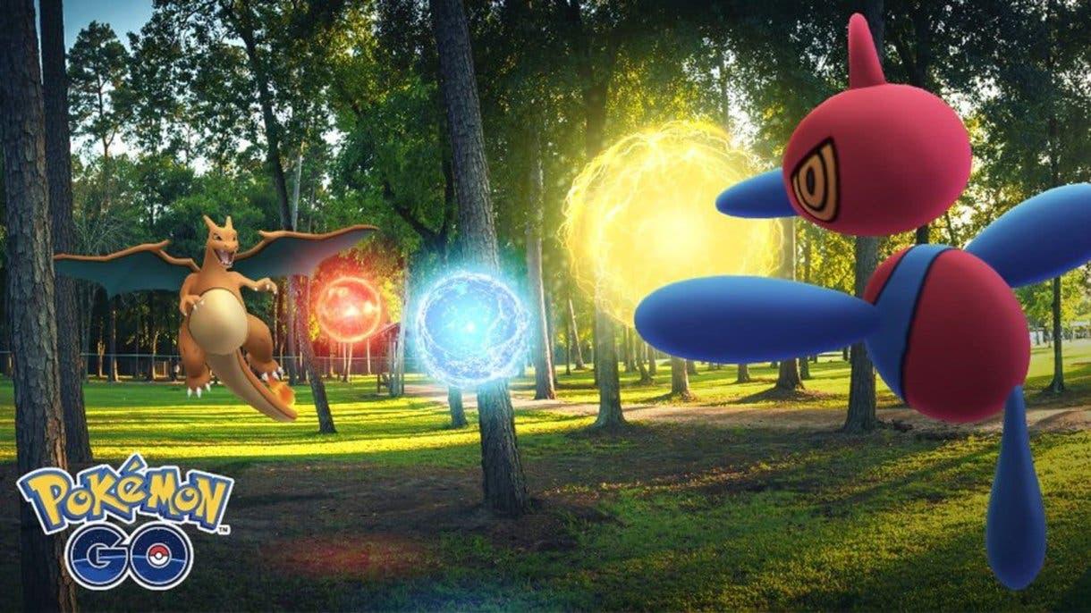 Pokemon GO Porygon Charizard Triataque