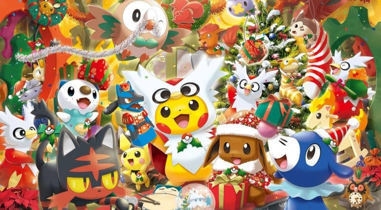 Imagen de Disfruta de la Navidad con Pokémon gracias a estos eventos