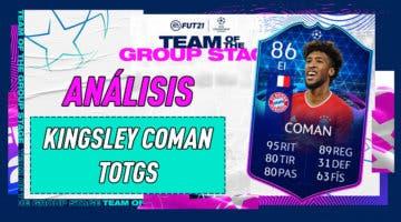 Imagen de FIFA 21: análisis de Coman TOTGS, la carta gratuita de esta semana