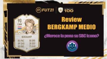 Imagen de FIFA 21: review de Bergkamp Icono Medio ¿Merece la pena hacer su SBC?