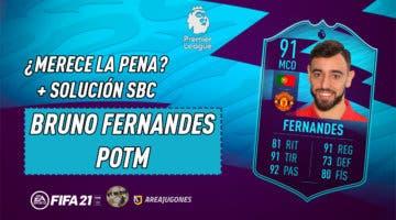 Imagen de FIFA 21: ¿Merece la pena Bruno Fernandes POTM? + Solución de su SBC