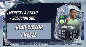 Imagen de FIFA 21: ¿Merece la pena Joao Víctor Freeze? + Solución de su SBC