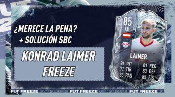 Imagen de FIFA 21: ¿Merece la pena Konrad Laimer Freeze? + Solución de su SBC