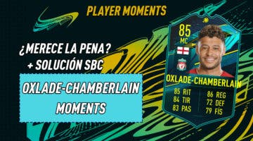 Imagen de FIFA 21: ¿Merece la pena Oxlade-Chamberlain Moments? + Solución de su SBC