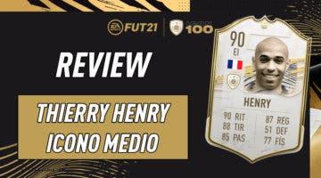 Imagen de FIFA 21 Icon Swaps: ¿Merece la pena Thierry Henry Medio? Review del Icono