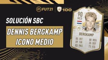 Imagen de FIFA 21: solución al SBC de Dennis Bergkamp Icono Medio