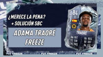 Imagen de FIFA 21: ¿Merece la pena Adama Traoré Freeze? + Solución del SBC