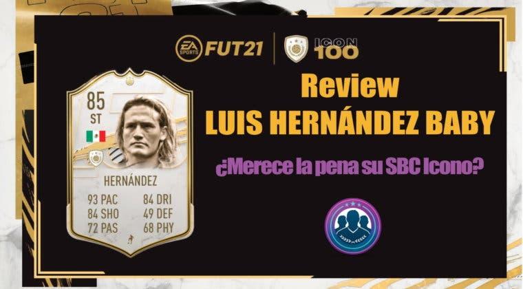 Imagen de FIFA 21: review de Luis Hernández Icono Baby ¿Merece la pena hacer su SBC?
