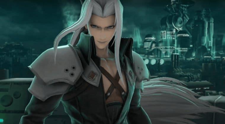 Imagen de Super Smash Bros. Ultimate muestra los movimientos de Sephiroth y su fecha de llegada
