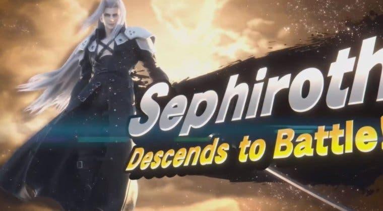 Imagen de Sephiroth, de Final Fantasy VII, es el nuevo personaje DLC de Super Smash Bros. Ultimate