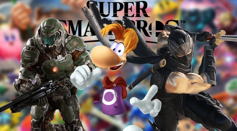 Imagen de Super Smash Bros. Ultimate recibiría a Rayman, Doomguy y Ryu Hayabusha, según filtrador