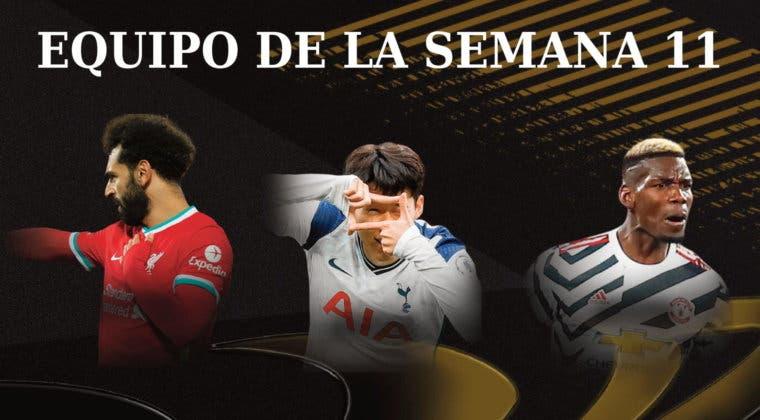 Imagen de FIFA 21: la Premier League domina el nuevo Equipo de la Semana (TOTW 11) + carta free to play TOTGS