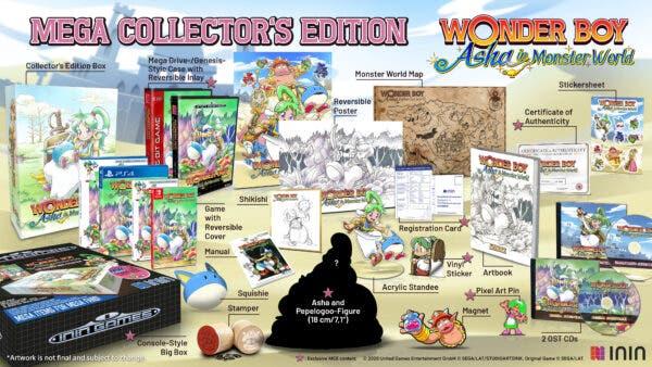wonder boy asha in monster world 2