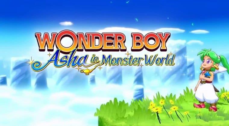 Imagen de Anunciadas tres ediciones limitadas físicas de Wonder Boy: Asha in Monster World