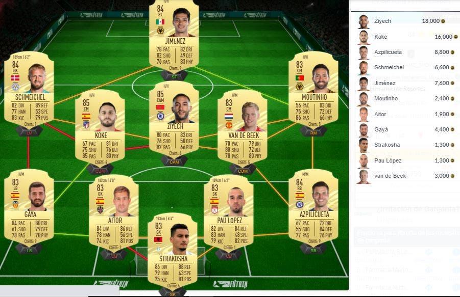 FIFA 21 Ultimate Team SBC Klaiber Showdown