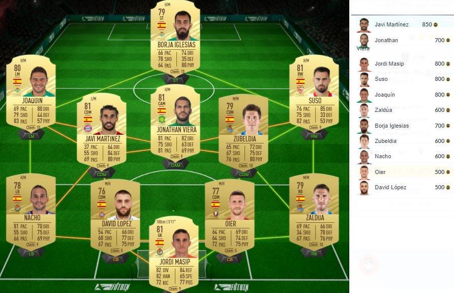 FIFA 21 Ultimate Team SBC UEFA Champions League