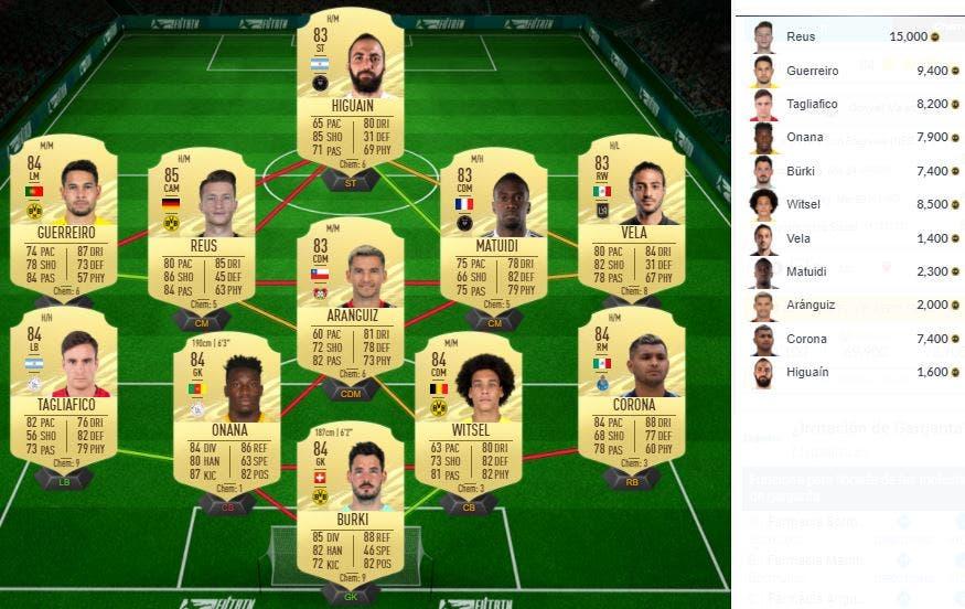 FIFA 21 Ultimate Team SBC Malen Showdown