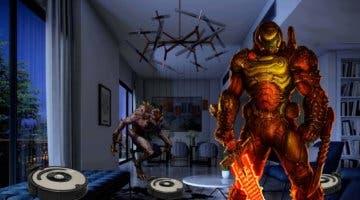 Imagen de La banda sonora de DOOM y activar los 'roomba'; así responde un jugador a la alerta de intrusos en su casa