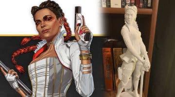 Imagen de Un jugador de Apex Legends se hace su propia estatua de Loba con una impresora 3D