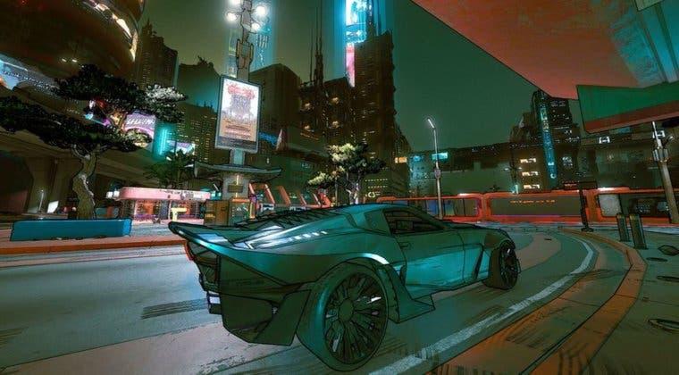 Imagen de Cyberpunk 2077 al estilo Borderlands: Así luce el juego de CD Projekt con cel-shading
