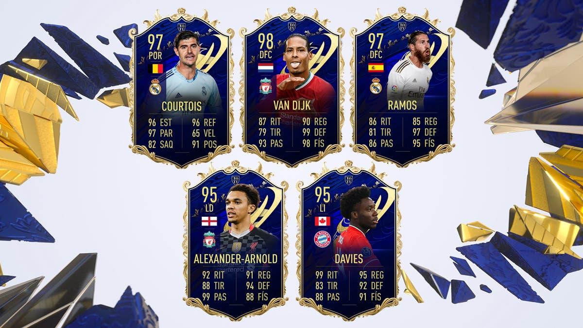 FIFA 21 Ultimate Team Equipo TOTY Meta Defensas
