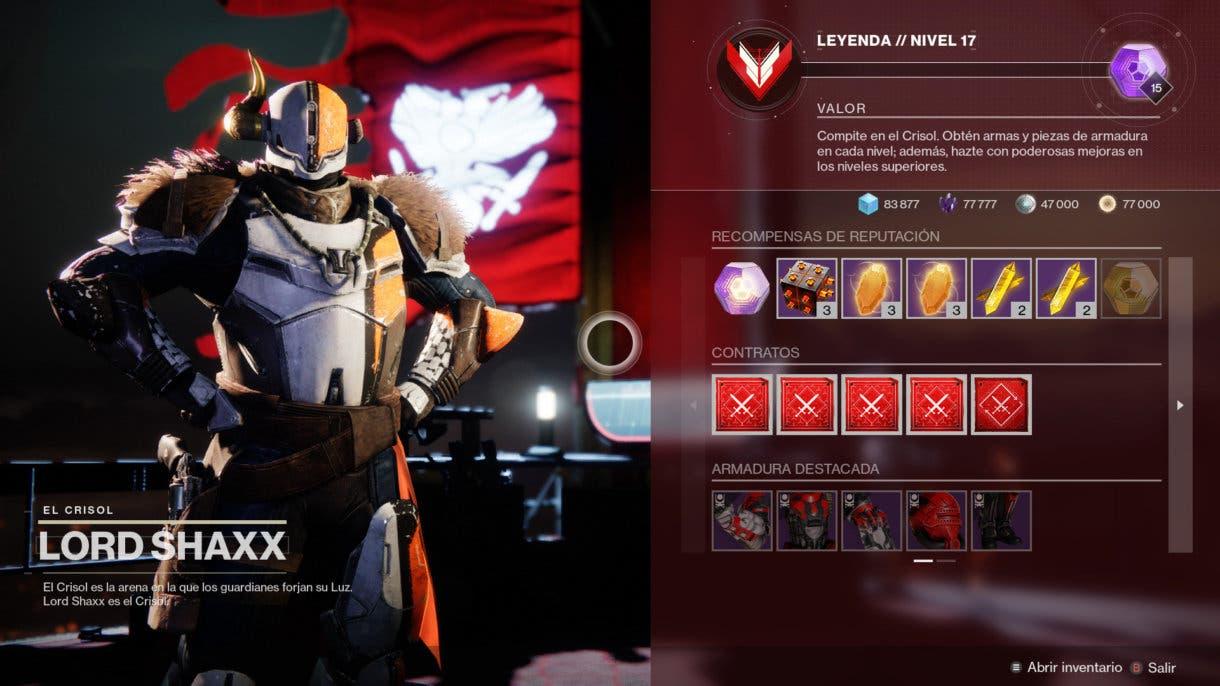 Destiny 2 cambiará el sistema de reputación de los comerciantes