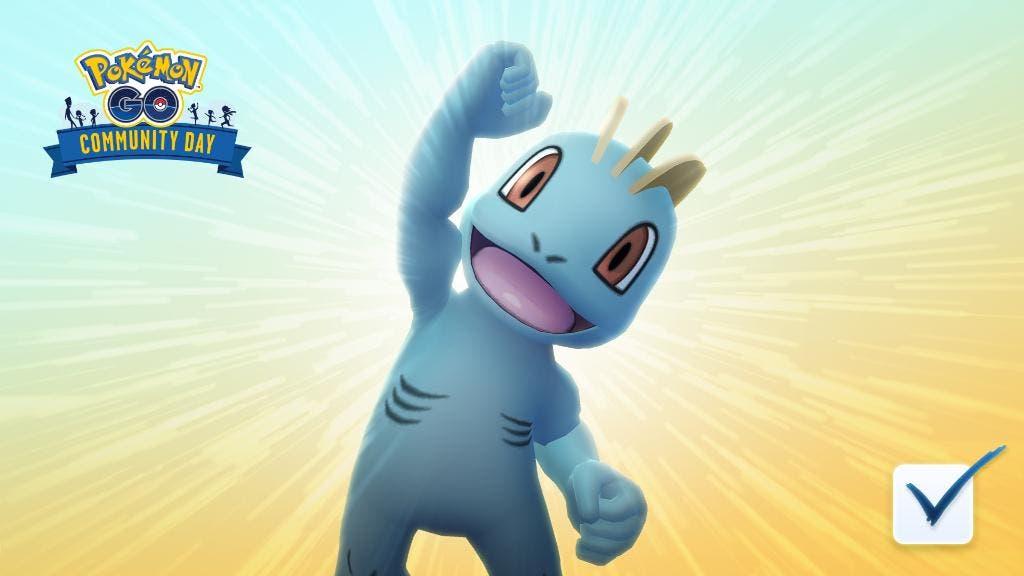 Dia de la Comunidad de Machop Pokemon GO